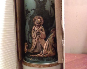 New Christmas Adoration Candle in box