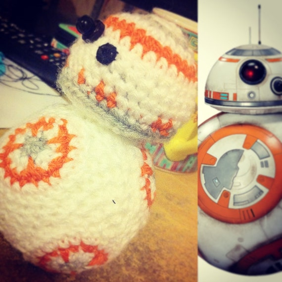Bb8 Amigurumi from Star Wars-The Force Awakens by ...