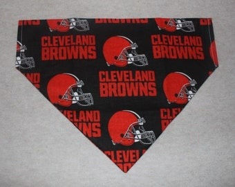 Cleveland Browns Dog Bandanna in Small, Medium, or Large