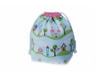 Kids insulated lunch sack - Castle