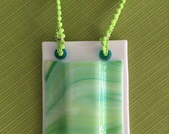 Fused Glass Wall Pocket