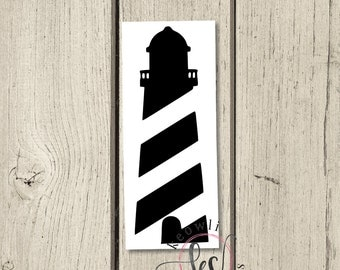 Lighthouse Vinyl Decal