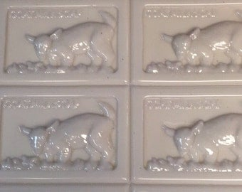 Goats milk soap with lavender EO