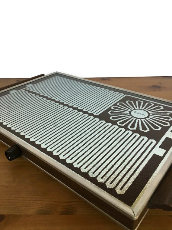 Dinner Plate Warmers Electric ~ Vintage hotray salton electric food warmer retro kitchen