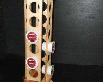 Multi-Wood Rotating K-Cup Holder