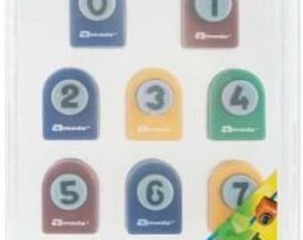 Number Paper Punch Set