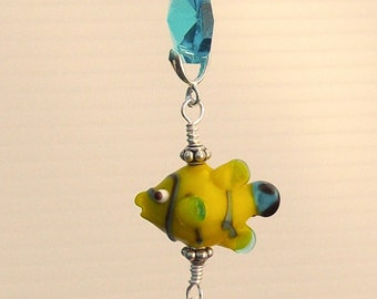 Lampwork Clown Fish Ceiling Fan Pull