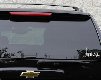 Actilabs decal in white