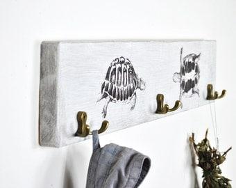 Hand Towel Rack   Bathroom Storage   Shabby Chic Bathroom   Bathroom Decor    Bath Towel Part 50