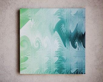 Sea - Abstract art composition / Contemporary art / wall decor / wall art / wall hanging - large canvas art