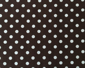 Dumb Dot by Michael Miller fabric by the yard CX2490 Blue