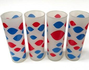 Vintage Dairy Queen Glasses Set of 4