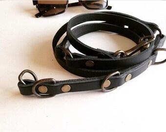 Mothers Day Gift, Black Leather Belt, Wrap Around Belt, Thin Leather Belt, Waist Belt, Womens Belt, Girlfriend Gift, Belt, Handmade Belt