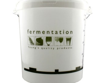 Brewing/ Fermenting bin  with lid home brew , beer , wine etc FREEPOST UK