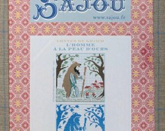 Bearskin - Grimm's fairy tale in cross stitch