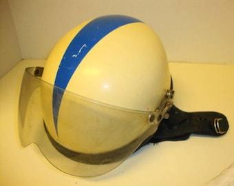 1950s Motorcycle Vespa Soap Box Derby Helmet