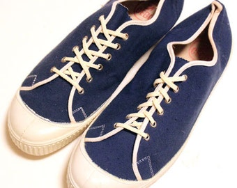 Deadstock 60's vintage CEBO canvas shoes made in  Czechoslovakian