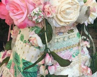 CHILDRENS TEEPEE, teepee topper, flowers, teepee, teepee tent, floral, kids teepee, play house, teepee for kids