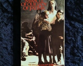 Vintage The Miracle Of Our Lady Of Fatima Video Cassette