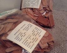 Doll House Shingles #9005 - Mini Wooden Fishscale Style Shingles - 300 Shingles Per Bag - 600 Total