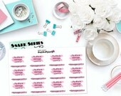 "SNARK SERIES: ""Damage Control"" Paper Planner Stickers!"