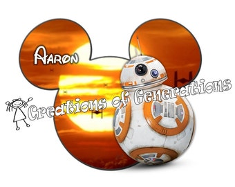 Disney Cruise Door Decoration Magnet - BB8