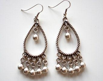 OTTOMAN EARRINGS / / silver plated earrings / / Turkish jewelry/Alan