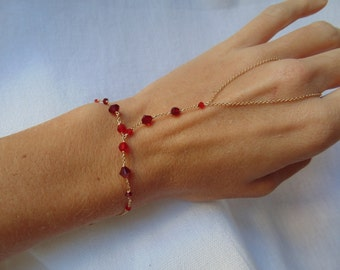 Red Hand chain