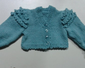 Sweather, Baby, Baby Hand Knit, Alpaca, Baby Clothes, Luxury, Baby Knit, Baby Gift, Your Colour Choices, Baby Gift, Showers Gift, Newborn