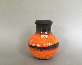Carstens Tonnieshof quality and rare  vase 7054  - 15, made in the 1970s in West Germany. WGP.
