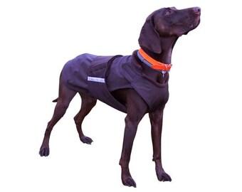 German Pointer / Vizsla Extra Warm Winter Dog Coat - Dog Jacket - Custom Dog Winter Coat - Waterproof / Fleece - Custom made for your dog