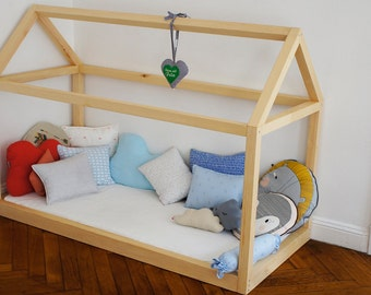 Bed, kids bed, bed for child, Scandinavian House
