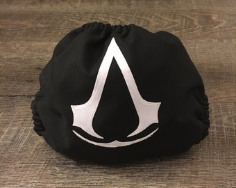 Assassin's Creed Cloth Diaper Cover, Pocket, or AIO