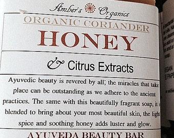 Organic Coriander Honey & Citrus Extracts - Ayurveda Beauty