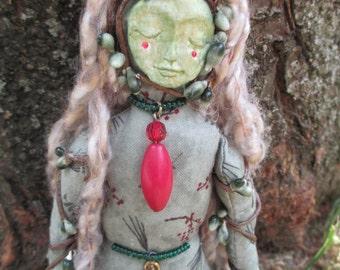 Earth Goddess Doll, Spirit Doll, Earth Goddess Spirit Doll, Poppet Doll, Alter Doll, Art Doll