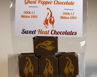 Ghost Pepper Milk Chocolate 4pc