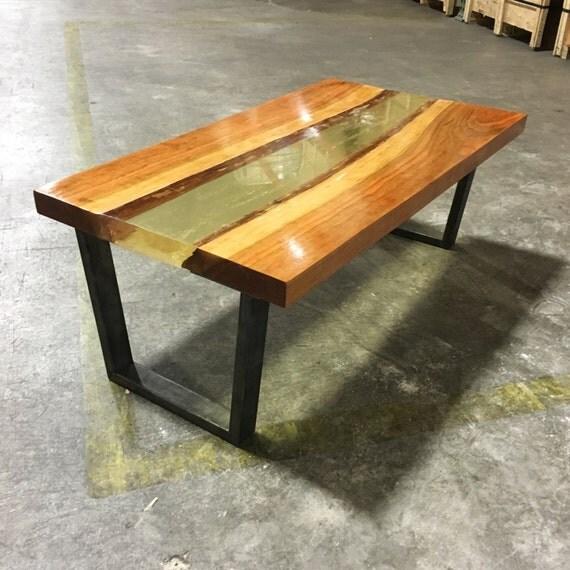 live edge river table. Black Bedroom Furniture Sets. Home Design Ideas