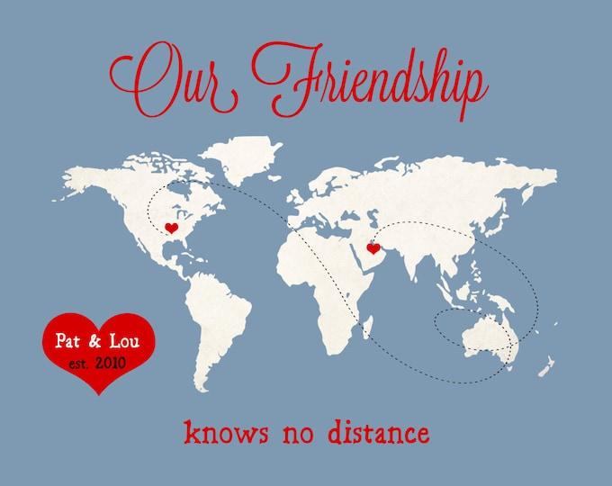 Best Friend Birthday, True Friendship, Gift Best Friend, Gift Gifts for Best Friends Birthday Gift for Bestfriend Long Distance Sister