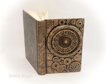 Steampunk Notebook gift for him
