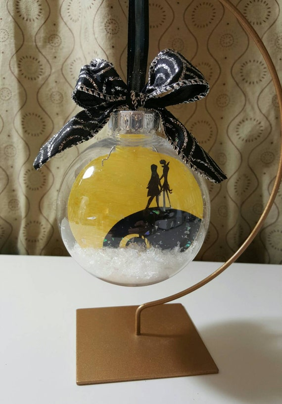 Nightmare Before Christmas Ornament Jack And Sally