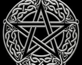 Intertwined Celtic Pentacle Decal