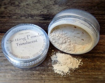 Aloe Infused Setting Powder for Face - Finishing Powder - Oil Absorbing - All Natural Make up Powder - Cosmetic Powder - Facial Powder