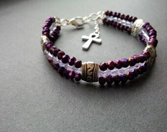 3 Row Bracelet