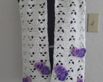 orchid style scarf