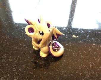 Pearl Purple Mini Dragon Guardian