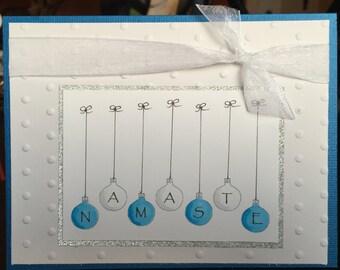 Namaste Holiday Card