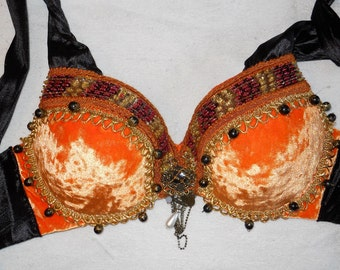 Belly Dance Tribal Bra and Belt