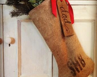 Coffee sack stockings