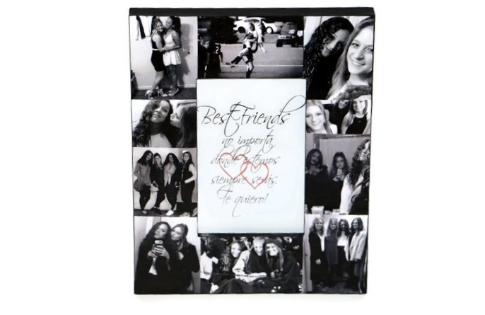 bachelorette party best friend picture frame picture frame collage getting married gift bff girls night out one last night single ladies