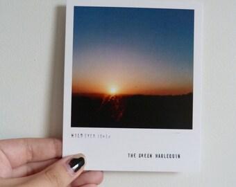 photos #8 and #9 set of 2 polaroid style prints (wall art decor photographs)